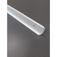 Стикова планка для стільниці LUXEFORM кутова колір RAL9003